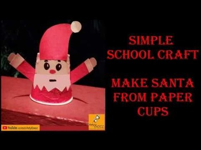 Crafts Now - Santa Claus making with Paper Cups 1 lakh+... | Facebook | 300x400