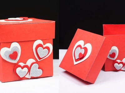 Gift Box Ideas – How to make a gift box with paper – DIY Crafts