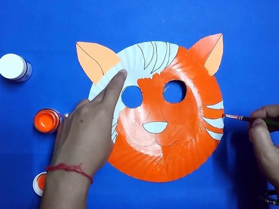 How to create animal using paper plate    Craft for kids