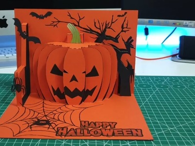Halloween Pop Up Cards Templates.Card How To Make Customized Greeting Card Latest Greeting