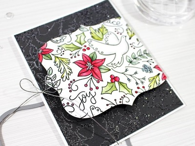 How to Make a Holiday Gift Card on your Christmas Card