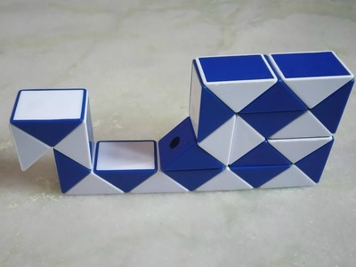 How to Make a Snail with Snake Cube