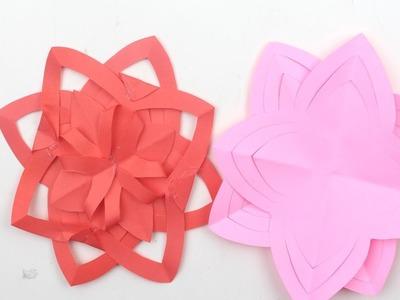 How to Make Beautiful Paper Stick Flower | DIY HandCraft Ideas for Room Decor | Safa Crafts