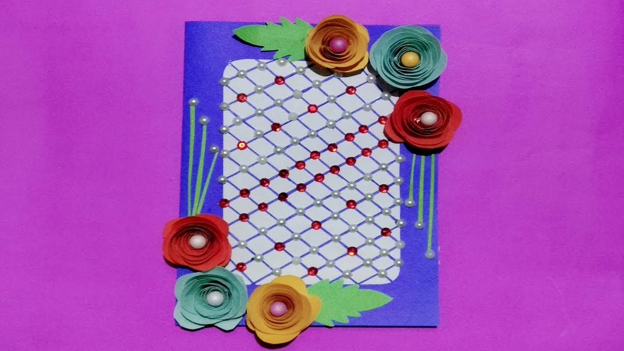 How to make Birthday Gift Card. DIY Greeting Cards for Birthday.Creative Art