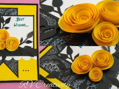 How to make customized greeting card | latest greeting card designs | #newyear #greetingcard #diy