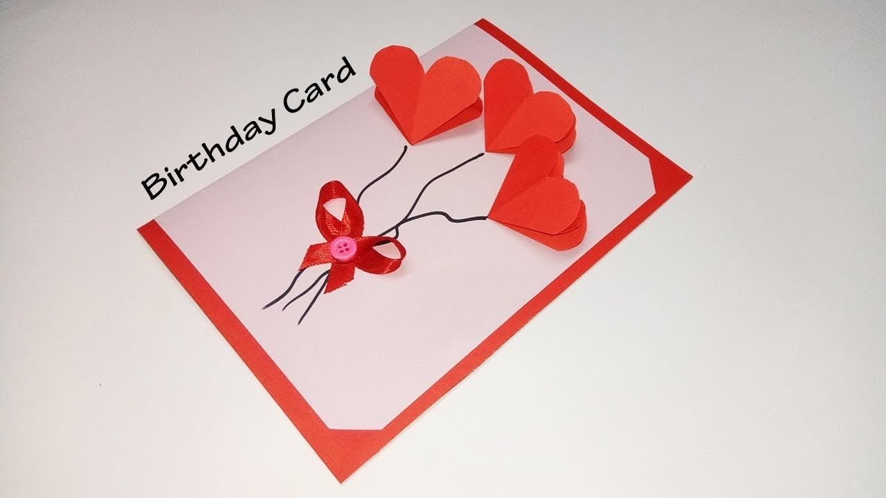 How To Make Easy Birthday Cards