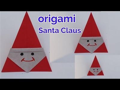 Origami - Santa | Origami santa, Holiday origami, Christmas origami | 300x400