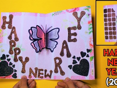 How To Make Greeting Card For Happy New Year (2019)