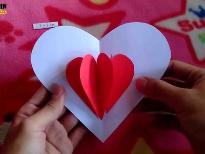 How To Make Heart Greeting Card ❤ | DIY POP UP | Love Card