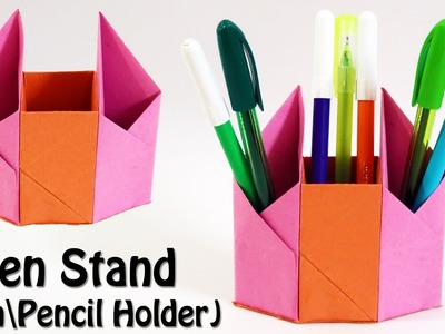 How to make Pen Stand - (Pen\Pencil Holder) Tutorial - 3