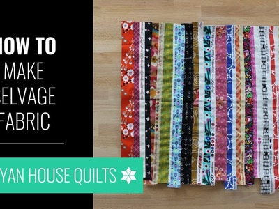 How to Make Selvage Fabric, with Rebecca Bryan