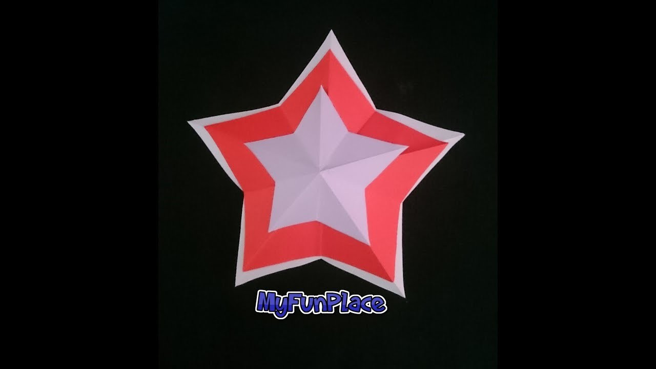 How To Make Simple & Easy Paper Star