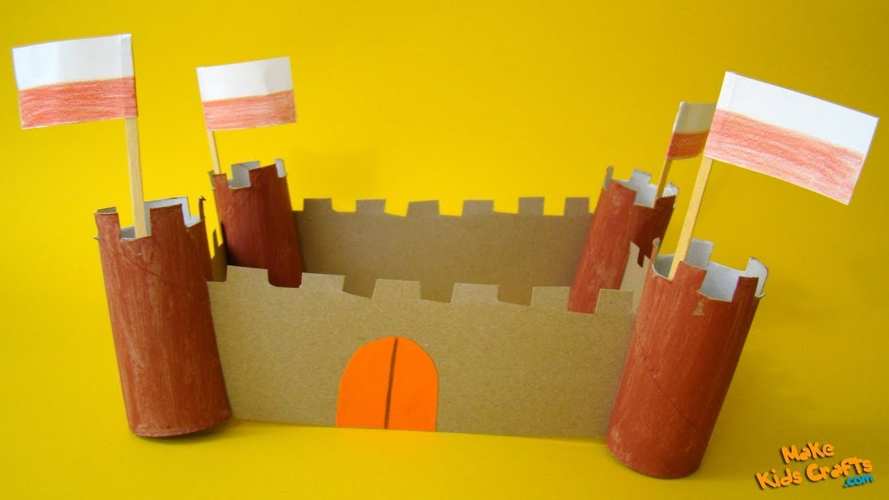 How to make Toilet Paper Roll Castles? DIY