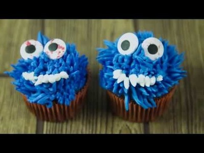 How to Pipe Monster Cupcake Tops | Sneak Peak | Global Sugar Art
