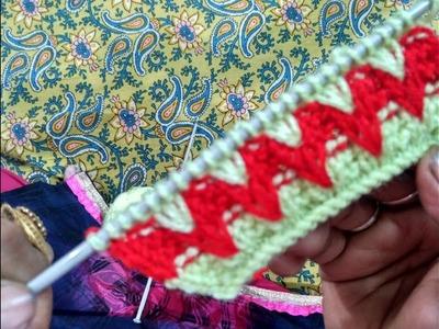 Knitting pattern #8 - new design for woolen sweater ft. Madhu The Knitter   woolen sweater designs