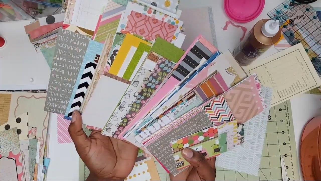Organize Scrapbook Paper Scraps For Junk Journal Ephemera