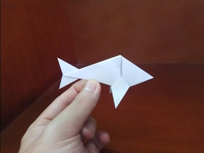Origami easy fish - How To Make a paper easy fish