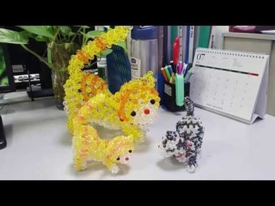 Part 03- Body- How to make beaded Cat