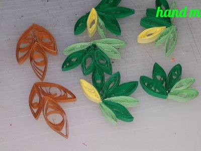 Quilling tutorial, fall fruits wreath.how to make quilling paper grapes,computer papers for decor