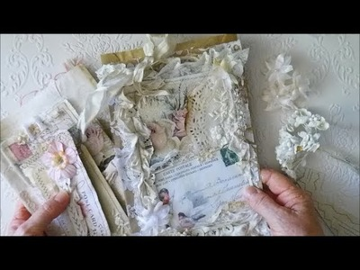 Shabby Vintage Paper Bag + How To