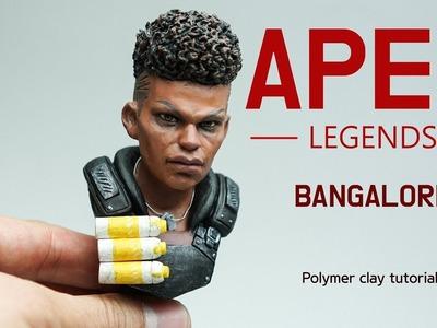 Bangalore (Apex Legends) - Polymer clay tutorial