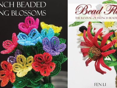 Bead Flora: spring blossoms - free book project, Beading gem's journal