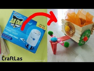 Best Wedding Craft Idea From All Out Box | Wedding Cart Making | CraftLas