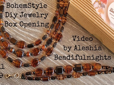 BohemStyle Diy Jewelry Box Opening Video April 2019
