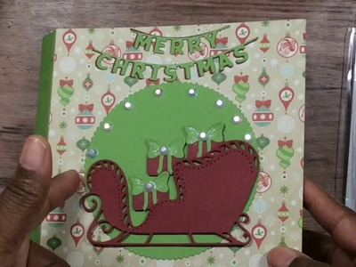 Christmas Crafting 365 -2019 -  Trifold Albums and Cards #1