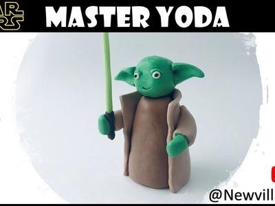 Creating Master Yoda using Polymer Clay