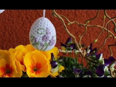 Crochet Easter Eggs Ornament