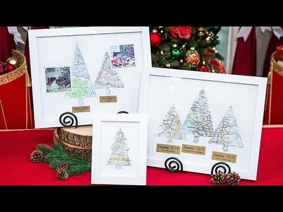 DIY Christmas Tree Maps - Home & Family
