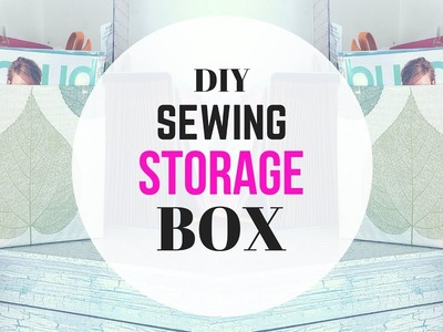 DIY Sewing Room Storage for Sewing Pattern and Sewing Magazines
