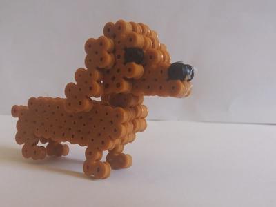 Dog | Perler beads 3D
