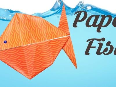 Easy Origami Fish, Easy Origami for Kids, Basic origami, Simple Origami for Beginners, Paper Origami
