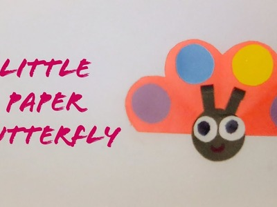 Easy Paper Little Butterfly | Origami Paper Butterfly | The Best Crafts