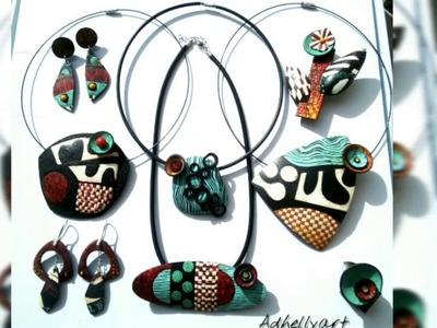 Fabiola Perez Ajates Inspiration - Polymer clay Jewelry