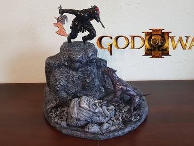 Fear Kratos vs Feral Hound from God of War III - Polymer Clay Tutorial
