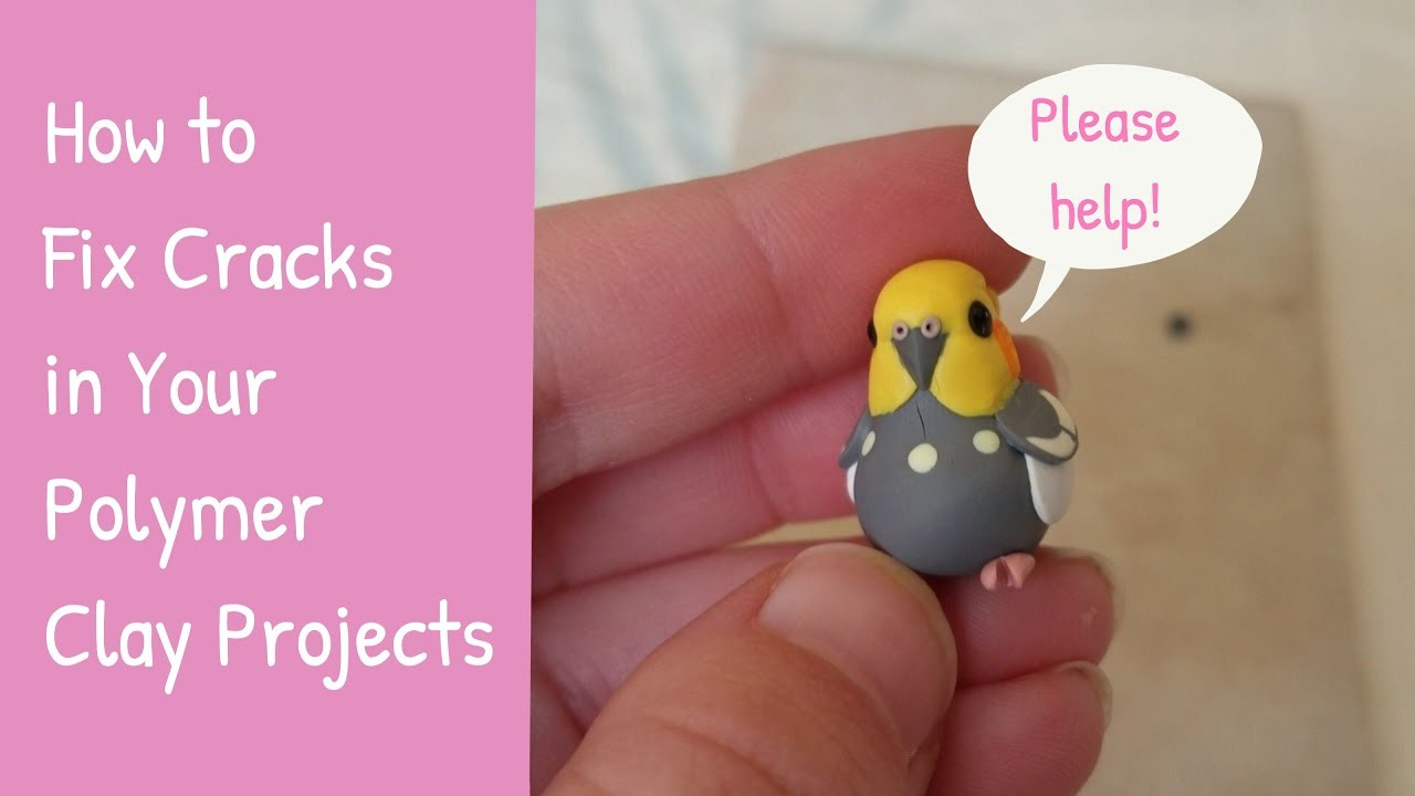 Fixing Cracks in Your Polymer Clay Creations