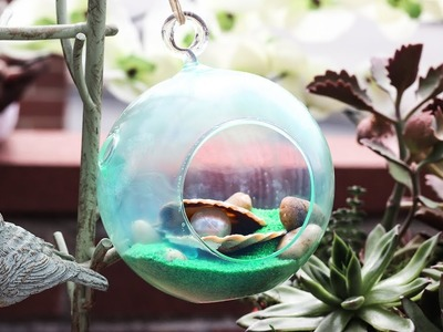 How to create your own sea glass terrariums | DIY Sea Glass Terrariums
