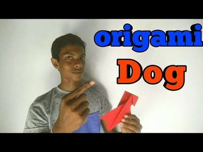 How to make a origami dog | make it super