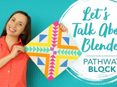 "???? LEARN TO QUILT - How to Sew the ""Pathway"" Quilt Block 