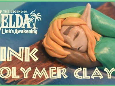 Making a Link figurine from The Legend of Zelda: Link's Awakening - Polymer Clay - By ARZEON