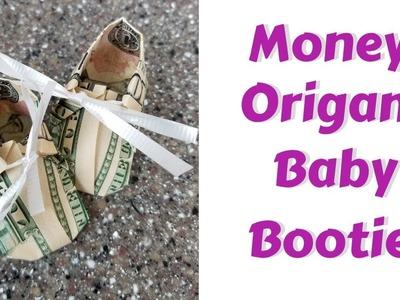 Money Origami Booties