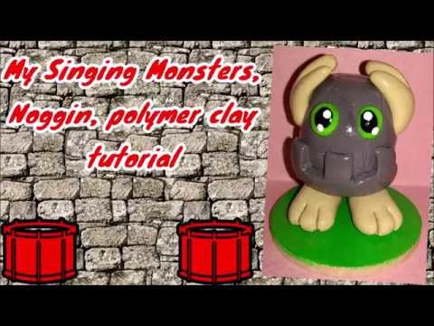 My singing monsters, Noggin, polymer clay tutorial