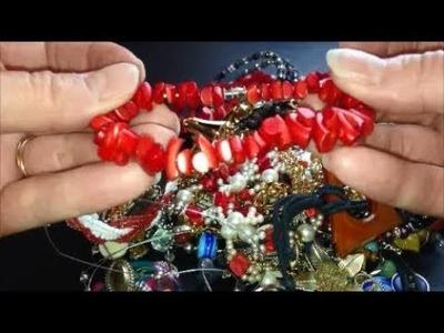 Mystery Bag #1 - Vintage Jewelry Haul Unbagging