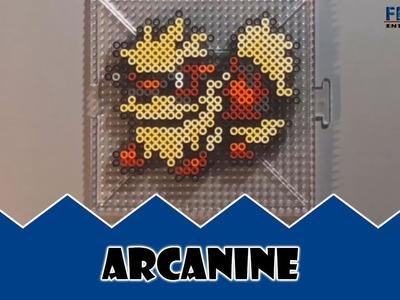 Pokemon: Perler Bead Arcanine