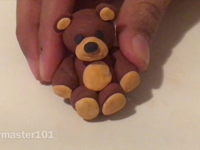 Polymer Clay Tutorial: Teddy Bear