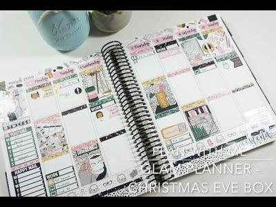 PWM Erin Condren. ft. Glam Planner - Christmas Eve Box Kit