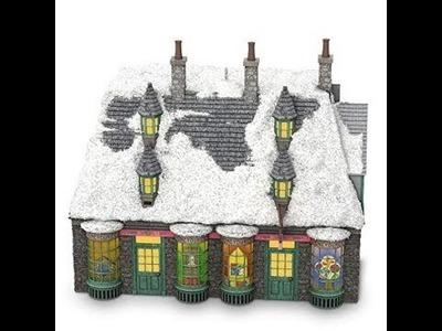 Review and Unboxing: Harry Potter Honeydukes Sweet Shop 2018 Hallmark Keepsake Christmas Ornament